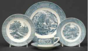 Currier and Ives Dinnerware Collectors Club